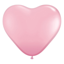 Picture of 6 Inch Heart - Pink (100/bag)