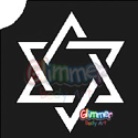 Picture of Star of David Stencil (1pc)