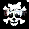 Picture of Cutie Skull Stencil ( 5pc pack )