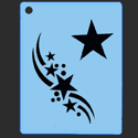 Picture of Star Swing Stencil - SOBA-23