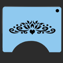 Picture of Topper 2 Princess Stencil - SOBA-55