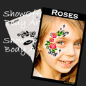 Picture of Roses Stencil Eyes Profiles - SOBA