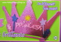 Picture of Krafty Kids Kit: DIY Glitter Princess Tiara - Magenta