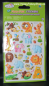 Picture of 3D Foam-Fun Stickers Animal Pals (Monkey - Elephant)