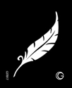 Picture of Basic - HD Stencil - Feather - B17 (4pc/pk)