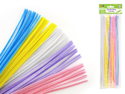 Picture of Pipe cleaners - Chenille Stems 40/pk-Pastel Mix