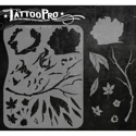 Picture of Tattoo Pro Stencil - Fower & Leaf (APTS-109)