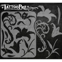 Picture of Tattoo Pro Stencil - Fancy Lily (ATPS-114)