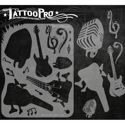 Picture of Tattoo Pro Stencil - Rock & Roll (ATPS-116)
