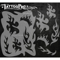 Picture of Tattoo Pro Stencil - Fire & Flame (APTS-124)