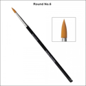 Picture of Global Body Art - Brush - Round #6