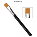 Picture of Global Body Art - Brush - Flat 3/4 Inch