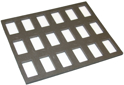 "Picture of Foam Insert for Plastic Case -18 Rectangle Slots (1 Strokes-30G) (9.65""x12.2"")"
