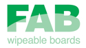 Picture for manufacturer FAB Wipeable Practice Boards
