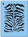 Picture of Zebra Stencil - SOBA-01