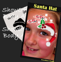 Picture of Santa Hat - Stencil Eyes Profile - SOBA