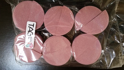 Picture of TAG Half Sponge - Pink - 12 pack