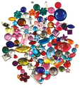 Picture of Gemstones Assorted shapes-colors-sizes 30g - FT