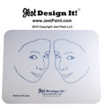 Picture of Jest Design It Face Painting Practice Board - 2 SIDE View Kids