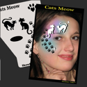 Picture of Cat's Meow Stencil Eyes Profiles- SOBA