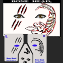 Picture of Bone Head Stencil Eyes - 08SE