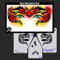 Picture of Screech Stencil Eyes - 79SE - (8YRS and UP)