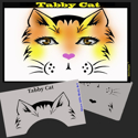 Picture of Tabby Cat Stencil Eyes - 91SE