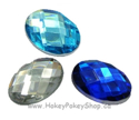 Picture of Oval Gems - Frozen Set - 13x18mm (7 pc) (AG-O2)