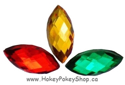 Picture of Pointed Eye Gems - Festive Set - 7x15mm (15 pc) (AG-PE1)
