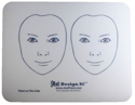 Picture of Jest Design It Face Painting Practice Board - 2 FRONT View Kids