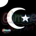 Picture of Star and Moon - Stencil (5pc pack)
