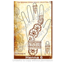 Picture of Henna Stencil 6 - Heavy Floral Fun - SOBA