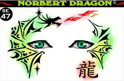 Picture of Norbert Dragon Stencil Eyes - 47/48SE - (8 YRS and UP)