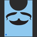 Picture of Mustash/Beard Stencil - SOBA-42