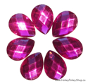 Picture of Teardrop Gems - Magenta - 13x18mm (7 pc.) (SG-T3)