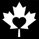 Picture of  Maple Heart - Sparkle Stencil (1pc)