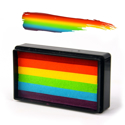 Picture of Silly Farm - True Rainbow Arty Brush Cake - 30g