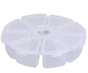 Picture of Round Plastic Container - 8 Compartments