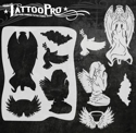 Picture of Tattoo Pro Stencil - Angels (ATPS-153)