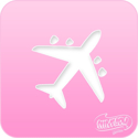 Picture of Pink Power Face Painting Stencil (1107) - Airplane