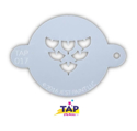 Picture of TAP 017 Face Painting Stencil - Dragon Scales