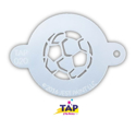 Picture of TAP 020 Face Painting Stencil - Soccer Ball