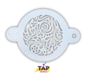 Picture of TAP 022 Face Painting Stencil - Swirly