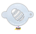 Picture of TAP 041 Face Painting Stencil - Easter Egg