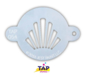 Picture of TAP 054 Face Painting Stencil - Crown
