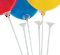 Picture of 16 Inch Balloon Holders Set (8 Sticks with Cups)