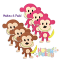 Picture of Krafty Kids Kit: DIY Foam Pal Kits Make 6 Monkeys