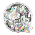 Picture of Art Factory Chunky Glitter - Emoji Face - 50ml