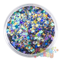 Picture of Art Factory Chunky Glitter - Peacock - 50ml