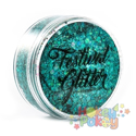 Picture of Festival Glitter - Blue Lagoon - 50ml